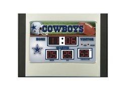 Dallas Cowboys Scoreboard Desk & Alarm Clock ()