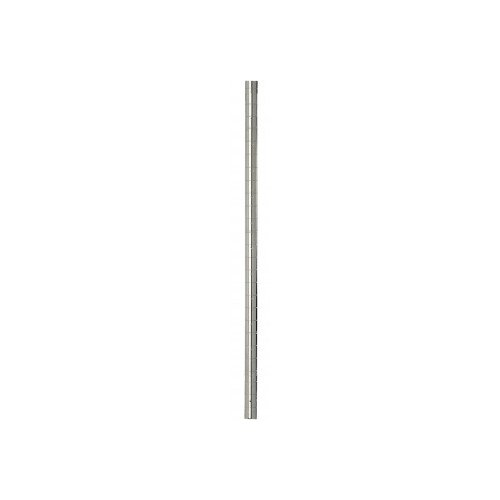 Focus Foodservice FG054C Stationary Post, 54'' Length, Chromate Finish by Focus Foodservice