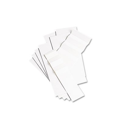 1/5 Cut Tab Hanging (Pendaflex Products - Pendaflex - Blank Inserts for Hanging File Folders, 1/5 Tab, 2 in, White, 100/Pack - Sold As 1 Pack - Perforated and scored sheets tear and fold into strips of ten. - Blank for up to three lines of type. -)