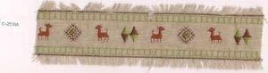 VirVenture Southwestern Deer Argyle Embroidery Applique Patch Trim Great for Hats, Backpacks, and - Deer Argyle