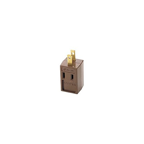 Brwn 3out 3wire Gnd Cube Tap (Gnd Tap)