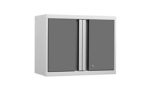 (NewAge Products Pro 3.0 White Wall Cabinet, Garage Cabinet, 52400)