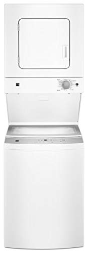 "Price comparison product image Kenmore 81452 24"" 1.6 cu. ft. 240V Electric Laundry Center,  includes delivery and hookup"