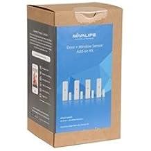 Mivalife Door/Window Sensor 4-pack Add-on (Requires a Home8/Oplink/Mivalife Smart Hub)