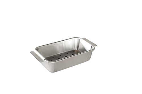 Nordic Ware Naturals Meat Loaf Pan and Lifting Trivet, Multicolor