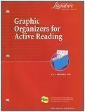img - for Graphic Organizers for Active Reading with Answer Key (Elements of Literature, Second Course) book / textbook / text book