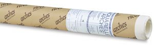 Canson Arches Watercolor Paper Roll, Cold Press , 90 Pound, 44.5 Inch x 10 Yard Roll, Natural White by Arches