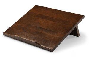 Ergo Desk 500W Desk Angle Walnut by Ergo Desk