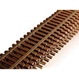 Scale Flex Track - Micro Engineering 12-104 HO Scale Code 83 Flex Track Weathered