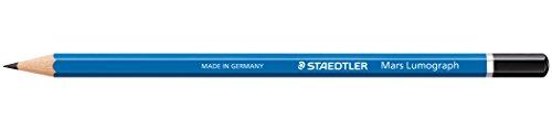 Pencil Lumograph (Staedtler Lumograph 1 Dozen Drawing Pencils 2B (100-2B))