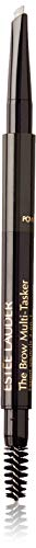 Estee Lauder The Brow Multi-tasker 3-in-1 Black for Women Eyebrow Pencil, No.05, 0.008 Ounce