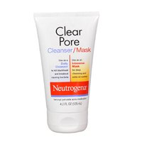 Neutrogena Clear Pore Cleanser/Mask 4.20 oz ( Pack of 3)