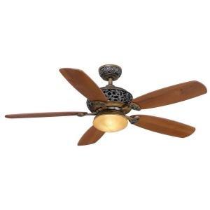 Patina 52 Inch Ceiling Fan (Hampton Bay 34112 Caffe Patina 52 in. Caffe Patina Ceiling Fan)