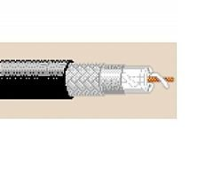 9913 500FT RG8/U Computer & Instrumentation Coax Cable 10 AWG Solid Bare Copper Overall