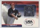 Roy Oswalt #87/850 (Baseball Card) 2004 Upper Deck USA Baseball 25-Year Anniversary - Jerseys #GU-RO