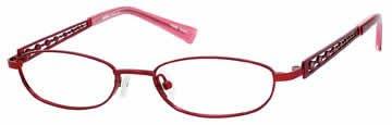 Seventeen 5334 in Burgundy Designer Reading Glass Frames , Demo Lens