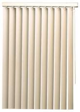 Designers Touch 560319 Vertical Blind Vnl 104Inx84In Valance And Wand Control Ivory (84in Vertical Blinds)