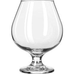 SNIFTER BRANDY EMB 17.5OZ, CS 2/DZ, 08-0280 LIBBEY GLASS, INC. GLASSWARE