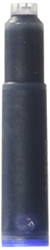 Montblanc Royal Blue Fountain Pen Ink Cartridges 8 per package (Pack of 2)]()