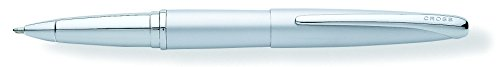 Cross ATX, Matte Chrome, Selectip Rolling Ball Pen, with Chrome Plated Appointments (885-1) - One Chrome Pen