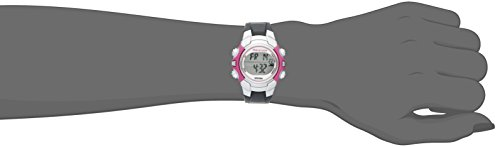 Marathon by Timex Women's T5K646 Digital Mid-Size Gray/Pink Resin Strap Watch by Timex (Image #2)