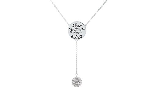 Silver Love Disc (NYC Sterling Women 18K White Gold-Plated