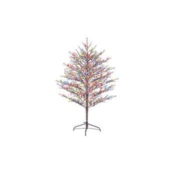 Amazon Com Ge 5ft Pre Lit Brown Branch Tree Winterberry
