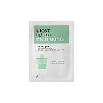 Amazon com: UTest-O-Meter 5 Level THC Marijuana Drug Test