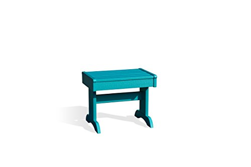 Patiova Poly End Table (Aruba Blue) - Blue Adirondack End Table