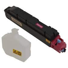 Kyocera 1T02NTBUS0 Model TK-5162M Magenta Toner Kit For use with Kyocera ECOSYS P7040cdn A4 Color Network Laser Printer, Up to 12000 Pages Yield at 5% Average Coverage