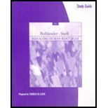 Study Guide for Bohlander/Snell's Managing Human Resources, Bohlander and Snell, 0324314698