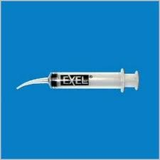 (2) 12mL EXEL Curve Tip Syringe - GREAT FOR ORAL IRRIGATION!