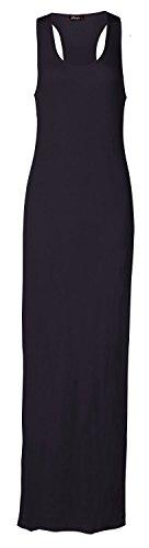 Fast Fashion -  Vestito  - Sera  - Senza maniche  - Donna blu 44