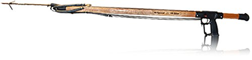 AB Biller 36in Special Speargun- Mahogany for Scuba Diving and Spearfishing - Mahogany Speargun
