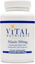 Vital Nutrients - niacine 500mg
