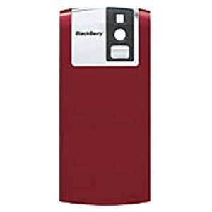 Blackberry Pearl 8120 Red - New RIM Blackberry 8100/ Pearl Red Cell Phone Models Factory Original Battery Door Cover