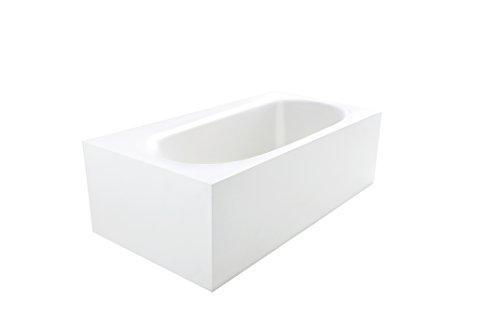 True solid surface zenith soaking bathtub for Bathtub material comparison