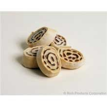 Rich Products Traditional Cinnamon Sweet Roll Dough, 2.25 Ounce - 120 per case.