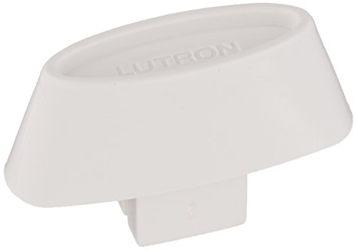 (Lutron GK-WH Glyder Slide-To-Off Replacement Knob, White )