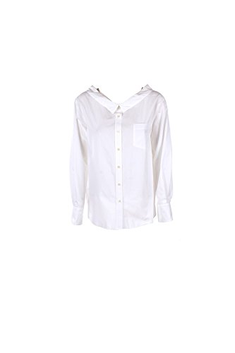 Camicia Donna Pinko 44 Bianco Lonigo 1/7 Primavera Estate 2017