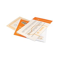 GBC HeatSeal UltraClear Thermal Laminating Pouches, Letter Size, 3 mm Thickness, 11.5 x 9 -Inches, Clear, 100 Pouches per Pack (3745022)