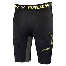 - Bauer Premium Compression Jock Shorts [MENS], X-Large