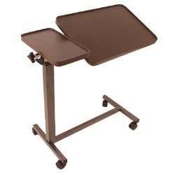 Deluxe Tiltable Overbed Table W/Tray