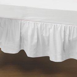 babydoll bedding mini crib solid dust ruffles white - Dust Ruffles
