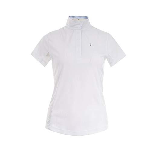 Horze Crescendo Blaire S/S Show Shirt 10 White
