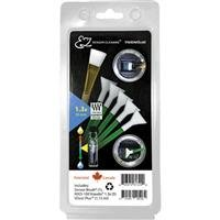 Visible Dust EZ Sensor Cleaning Kit PLUS with 1.15ml VDust Plus Liquid Cleaner, 5 Green 1.3x Vswabs, Sensor Brush by VisibleDust (Image #1)