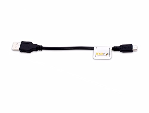 6 inch ReadyPlug USB Cable for Photive Hydra Bluetooth Speaker PH-BTW55 Data/Computer/Sync/Charger Cable (6 Inches)