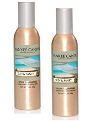 Yankee Candle 2 Pack Sun & Sand Concentrated Room Spray 1.5 Oz.