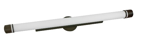 - Lighting by AFX ARV124RBMVT Aria 24-Watt Multi-Volt Vanity, Oil-Rubbed Bronze with Matte White Acrylic Diffuser