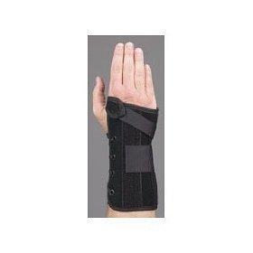 - MedSpec Wrist Lacer Wrist Support Suede/Polypro Felt (8